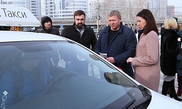 Партийцами выявлены нарушения в работе новосибирских таксистов